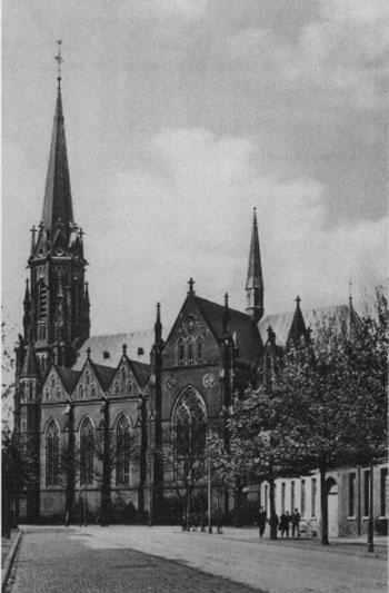 Grabeskirche Aachen um 1900