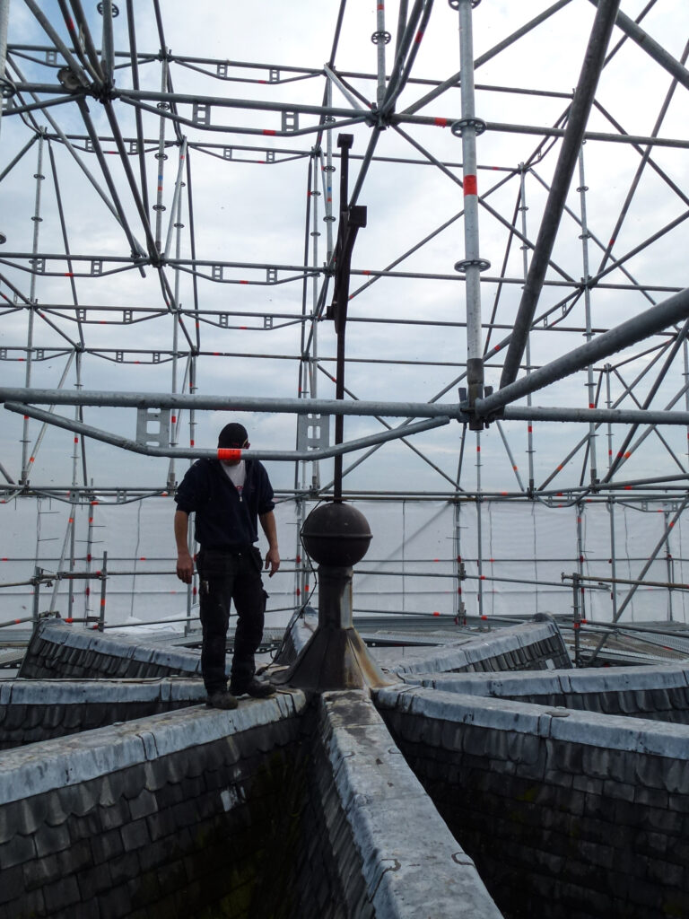 Baustelle Umbau zur Grabeskirche