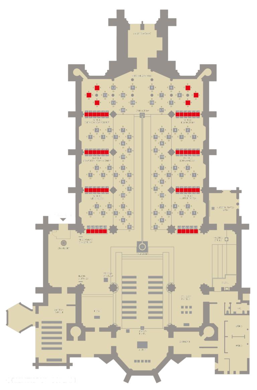 Gebühren-Kategorie I Standort der Stelen