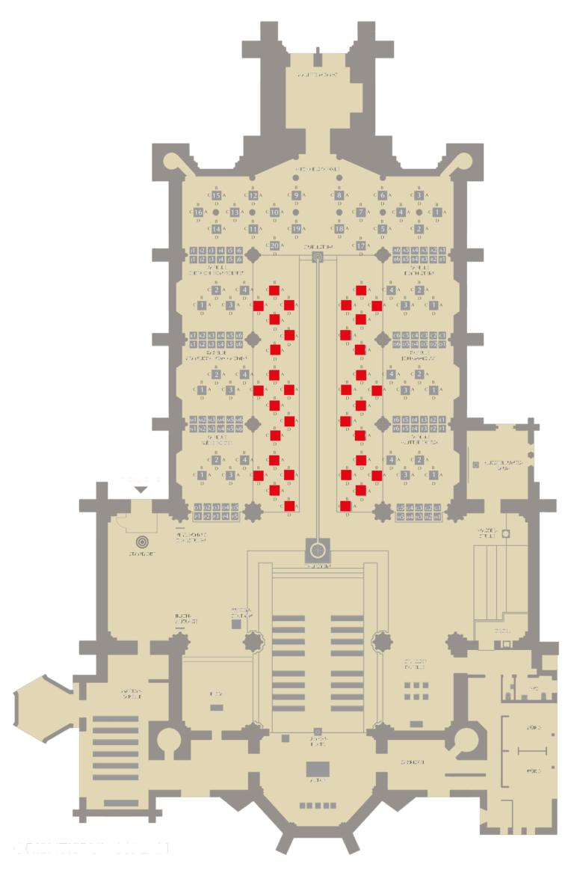 Gebühren-Kategorie V Standort der Stelen