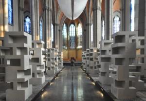 Blick in die Grabeskirche